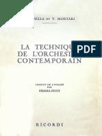 A. Casella, V. Mortari - La Technique de l'Orchestre Contemporain