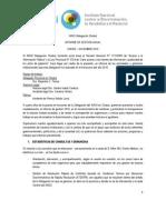 INFORME DE GESTIÓN ANUAL, Delegación Chubut