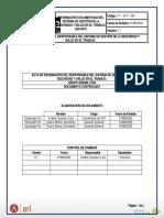 Acta de Designaciòn del Resposable del SG -SST