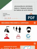 Presentación TRABAJOS ELECTRICOS Y EN CALIENTE