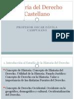 Historia del Derecho Castellano