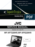 Jvc Mini Note Mp-xp7220kr 5220kr