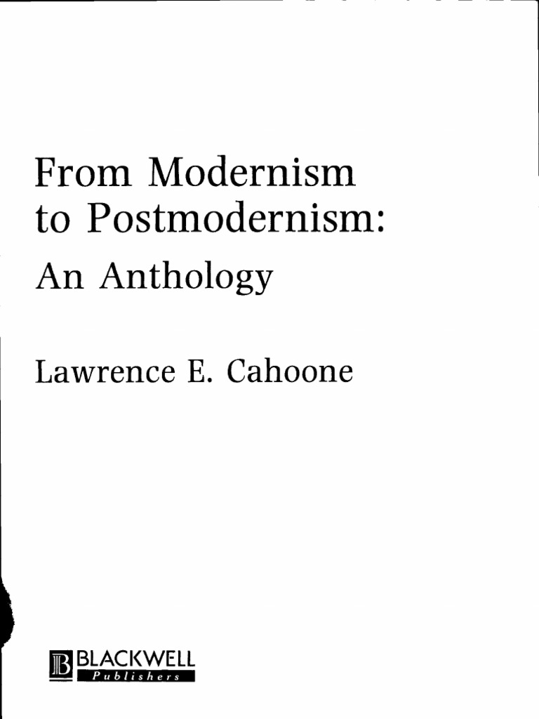 essay about postmodernism