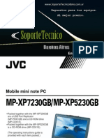 Jvc Mini Note Mp-xp7230gb 5230gb