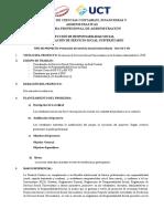 PROYECTO RS VII Y VIII ADMINISTRACION 2020