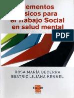 Elementos básicos para el trabajo social en salud mental