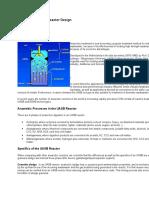 Methods for UASB Reactor Design