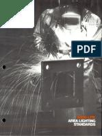 Wide-Lite Area Lighting Standards Poles Brochure 1987