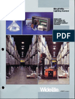 Wide-Lite Bi-Level Lighting Control Brochure 1988