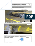 Visual inspection of Side plate report