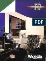 Wide-Lite Effex Series Floodlight Brochure 1996