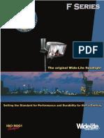 Wide-Lite F Series Floodlight Brochure 2003