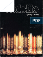 Wide-Lite Lighting Product Catalog 1981