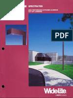 Wide-Lite Spectra Ten Series Brochure 1992