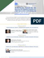 AGENDA seminario virtual