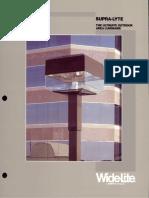 Wide-Lite Supra-Lyte Brochure 1988