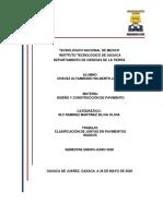CLASIFICACION DE JUNTAS