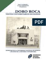 Deodoro Roca Textos Universitarios Escogidos Andrade y Rabinovich 2018