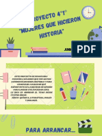 PROYECTO MUJERES 4°1°