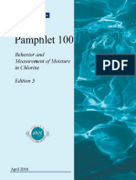 Pamphlet 100-Behaviour and Measurement of Moisture in Chlorine