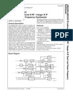 Datasheet LMX2350