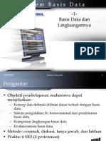 01 - Basis Data Lingkungannya