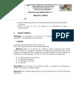 GUIA 01 MEDICION Y ERROR  2015-2