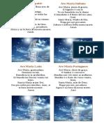 El Ave María en 7 Idiomas