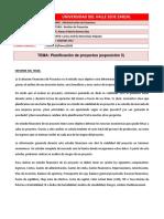 Planificación de proyectos (exposición 5)