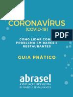 Coronavirus Bares e Restaurantes