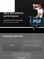 Race and Athletic Performance