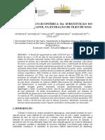 Análise Técnico-Econômica da Substituição do hexano por etanol na extração de óleo de soja