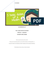 OSM01 5 Basic Duties of a Muslim