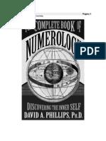 El libro completo de la numerología - David Phillips