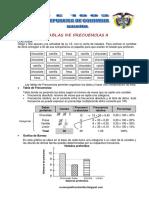 Matematica2 Semana 13 Guia de Estudio Tablas de Frecuecias II Ccesa007