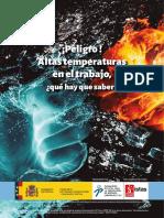 Folleto estres termico por exposición a calor