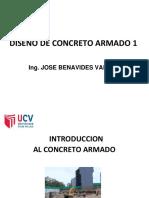 Sesion 1 Introduccion Al Concreto Armado
