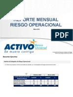 Reporte de Riesgo