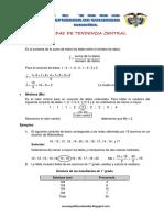 Matematica1 Semana 13 Guia de Estudio Medidas de Tendencia Central Ccesa007