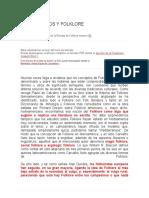 FOLKLORISMOS Y FOLKLORE (3)