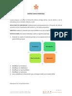 Instrumento de Evaluación 1.6 - Matriz DOFA personal