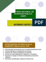Normas Basicas SNIP-ultimo modelo.ppt