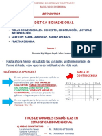 SEMANA 4 - TABLAS BIDIMENSIONALES  Y BARRAS APILADAS  2020 - I (1)