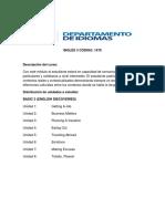 Programa Inglés 3 2020 May Ed