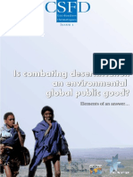 Requier-Desjardins and Caron Patrick , 2005. Is combating desertification a global public good?
