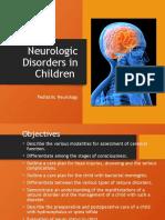 lecture 6- neurologic