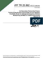 3GPP TR 25.892-V600