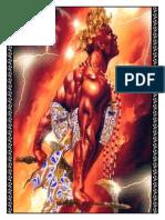 Curso de Alta Magia Vermelha  Candomblé - Módulo VII – Oferendas
