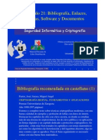 Seguridad Informática y Criptografía. Tablas, Software y Documentos