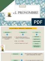 SEM2.El pronombre, clasificación (1.ro)